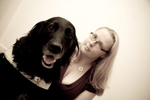An image of Tee and Vicky (Tees Guide Dog)