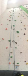 Image of the 5+ Graded wall (which grading I was unaware of when I climbed)
