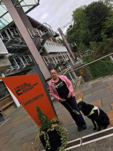 Me & Fizz outside EICA